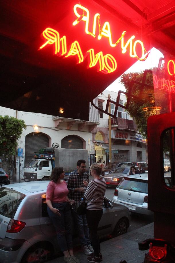 Radio Beirut, in Beirut.